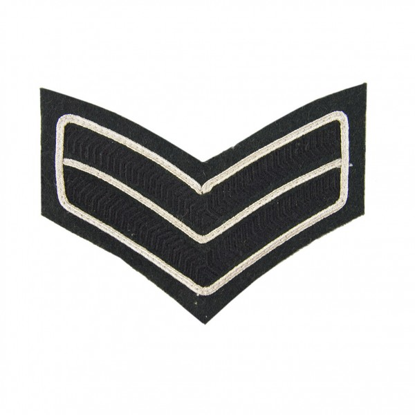 2 Bar Chevron Corporal – Service Stripe – The Rifles - Infantry - British Army Badge