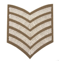 5 Bar Chevrons – Service Stripe - All Other Regiments and Corps - British Army Badge