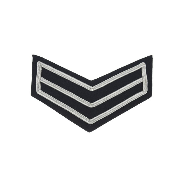 2 Bar Chevron Corporal – Service Stripe – Honourable Artillery Company - Infantry - British Army Badge