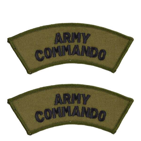 Army Commando – Shoulder Title Flash – British Army Badge