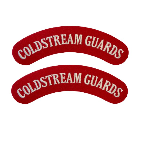 Coldstream Guards – Shoulder Title Flash – British Army Badge