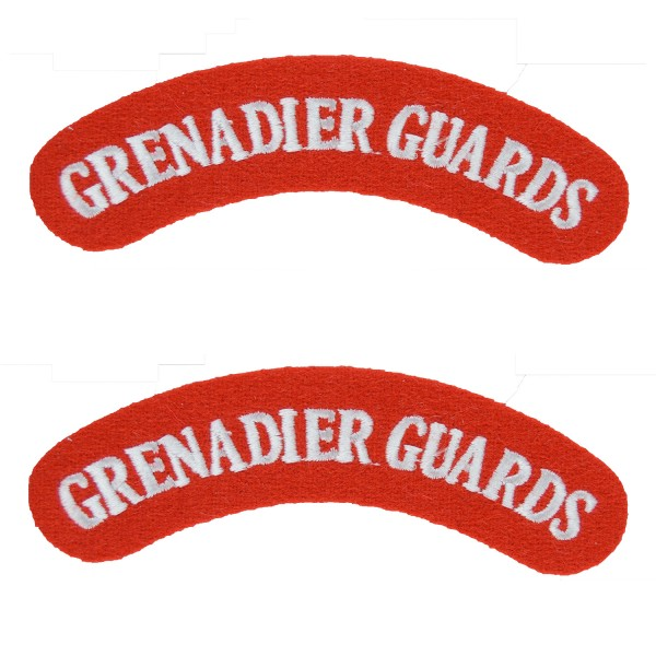 Grenadier Guards – Shoulder Title Flash – British Army Badge