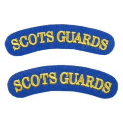 Scots Guards – Shoulder Title Flash – British Army Badge