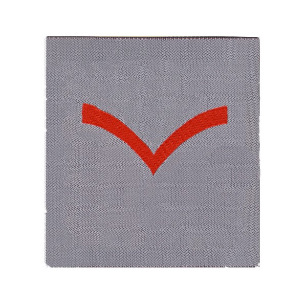 1 Bar Chevron Lance Corporal (LCpl) - Rank Patch - QARANC - Army Medical Services Badge - British Army Badge