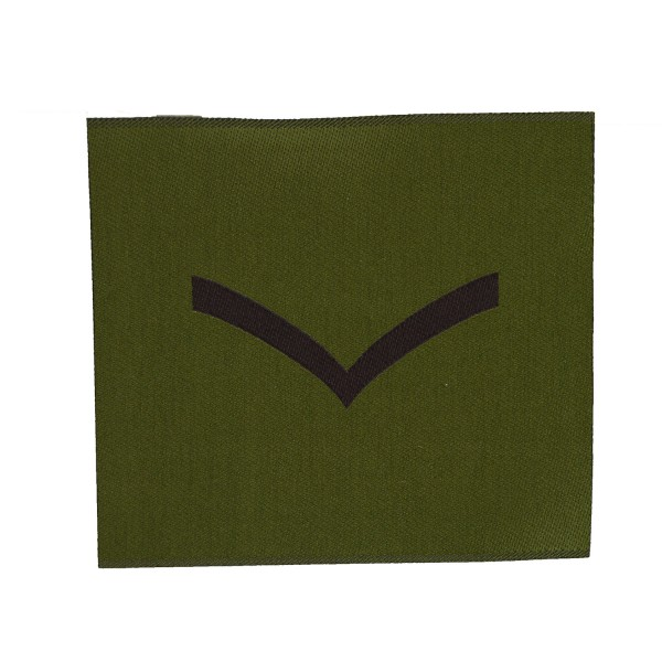 1 Bar Chevron - Lance Corporal (LCpl) – Rank Patch - British Army Badge