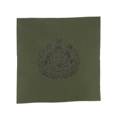 Warrant Officer Class 1 (WO1) Conductor – Royal Arms in Wreath Rank Patch - British Army Badge