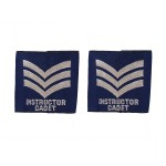 Air Cadet Instructor Sergeant (SGT) – Slider Epaulette - Royal Air Force Regiment - Royal Air Force Badge