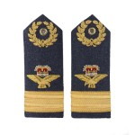 Air Commodore – Shoulder Board Epaulette - Royal Air Force Regiment - RAF Badge