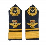 Air Vice Marshall – Shoulder Board Epaulette - Royal Air Force Regiment - Royal Air Force Badge