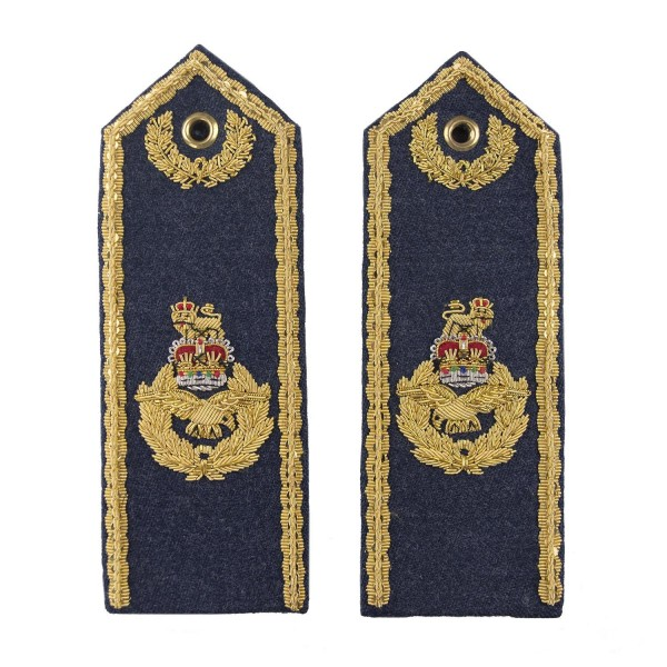 Air Vice Marshall and Above – Shoulder Board Epaulette - Royal Air Force Regiment - RAF Badge