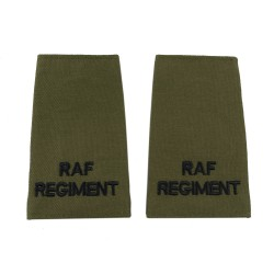 RAF Regiment - Slider Epaulette - Royal Air Force Regiment - Royal Air Force Badge