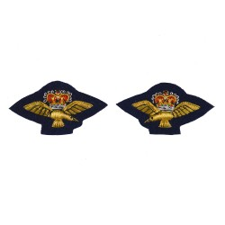 RAF Band Collar Badges - Royal Air Force (RAF) Organisation Badge