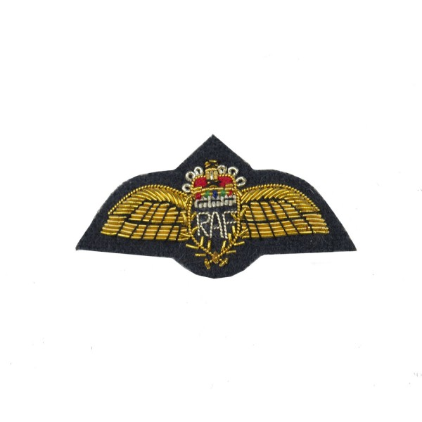 Pilot Officers Flying Badge Miniature - Royal Air Force (RAF) Qualification Badges