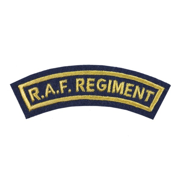 RAF Regiment- All Ranks Shoulder Title - Royal Air Force Band (RAF)