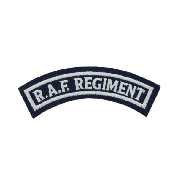 RAF Regiment - Organisation Badge - Shoulder Title - Royal Air Force (RAF)