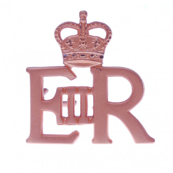 EIIR Small Gold Royal Cypher and Crown - Royal Air Force (RAF)