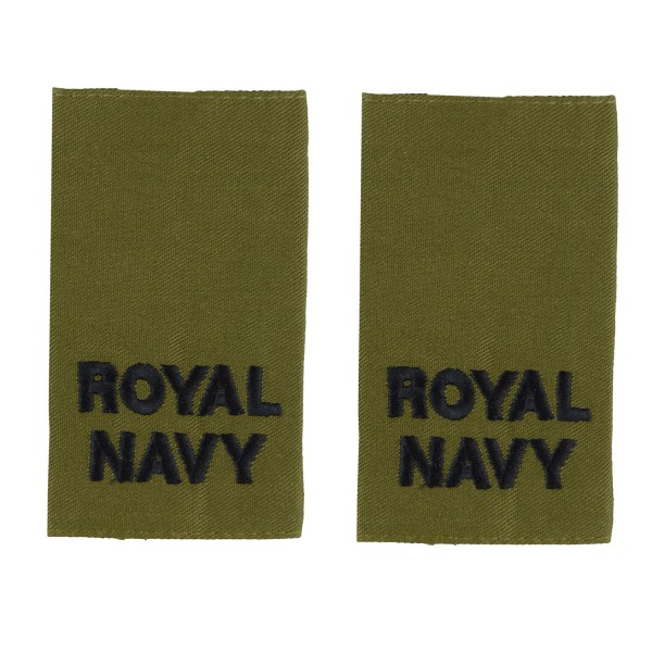 Able Rate - Slider Epaulette - Royal Navy Badge