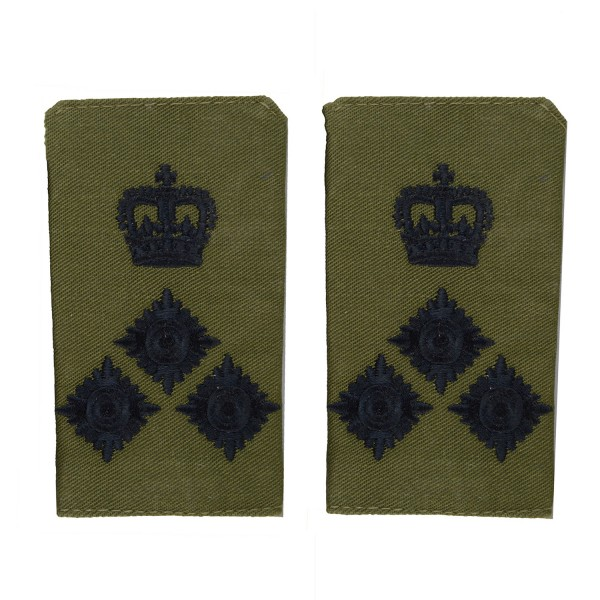 Brigadier (Brig) - Slider Epaulette - Royal Marines - Royal Navy Badge