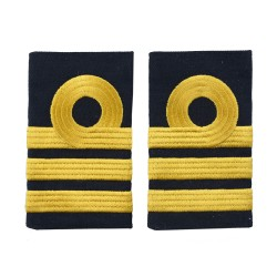 Commander - Fleet Air Arm - Royal Navy Slider Epaulette