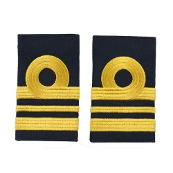 Lieutenant Commander - Fleet Air Arm - Royal Navy Slider Epaulette