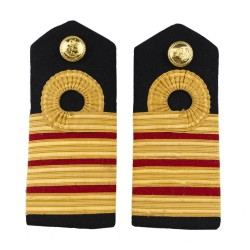 Surgeon Captain (M) - Shoulder Board Epaulette - Royal Navy Officers Badge