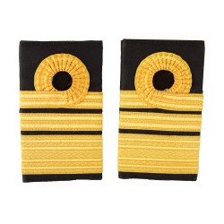 Vice Admiral - Slider Epaulette - Royal Navy Badge