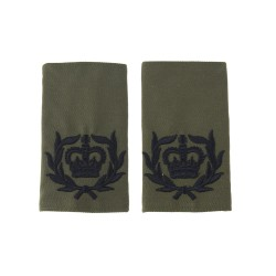 Royal Marines Warrant Officer Class 2 (WO2) - Slider Epaulette - Royal Navy Badge