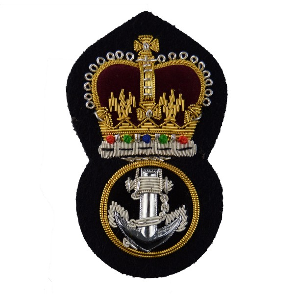 Petty Officer (PO) - Rank - Royal Navy Cap Badge