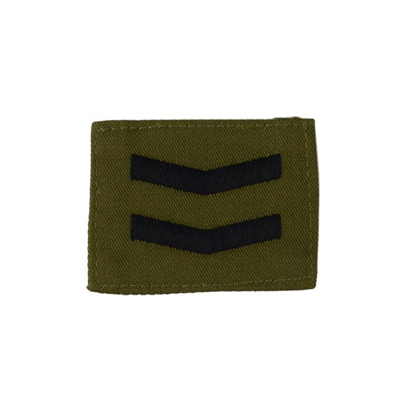 2 Bar Chevrons - Corporal – Rank Badge – Royal Marines – Royal Navy Badge