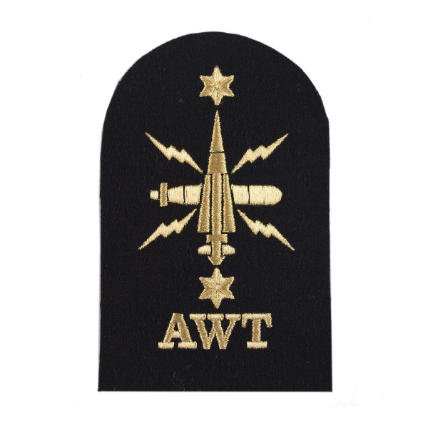 Above Water Tactical (AWT) - Leading Rate - Royal Navy Badge