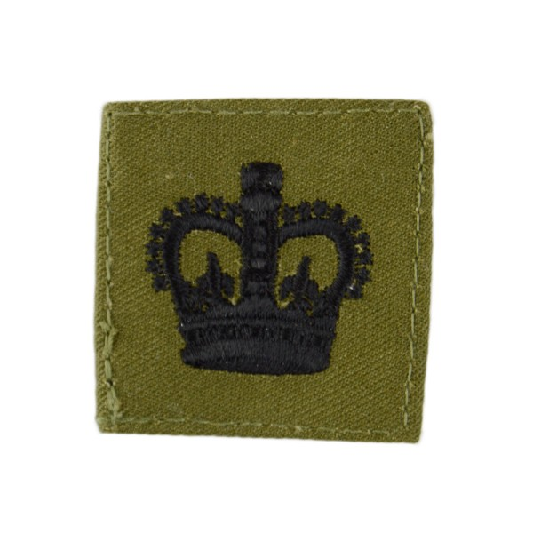 Colour Sergeant (CSgt) - Rank Crown - Royal Marines (RM) - Royal Navy Badge