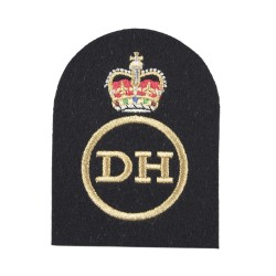 Dental Hygienist (DH) – Petty Officer (PO) - Royal Navy Badges