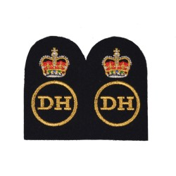 Dental Hygienist (DH) – Chief Petty Officer (CPO) - Royal Navy Badges