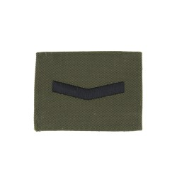 1 Bar Chevron - Lance Corporal – Rank Badge – Royal Marines – Royal Navy Badge