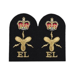 Marine Engineering Branch Electrical - Chief Petty Officer - Royal Navy Badge