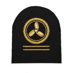 Motorman Royal Fleet Auxiliary Petty Officer Qualification Badge - Royal Navy