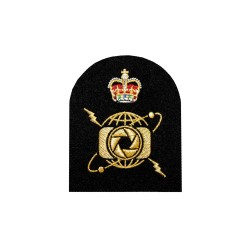 Photographer (P) -Petty Officer - Royal Navy Badge