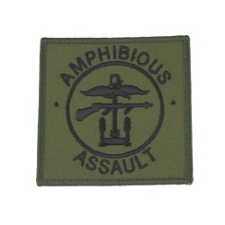 Amphibious Assault Formation - Royal Marines (RM) - Royal Navy Badge