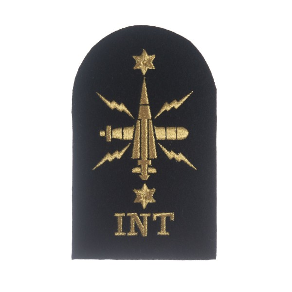 Leading Rate Intelligence (INT) Royal Navy Warfare Branch - Qualification Badge