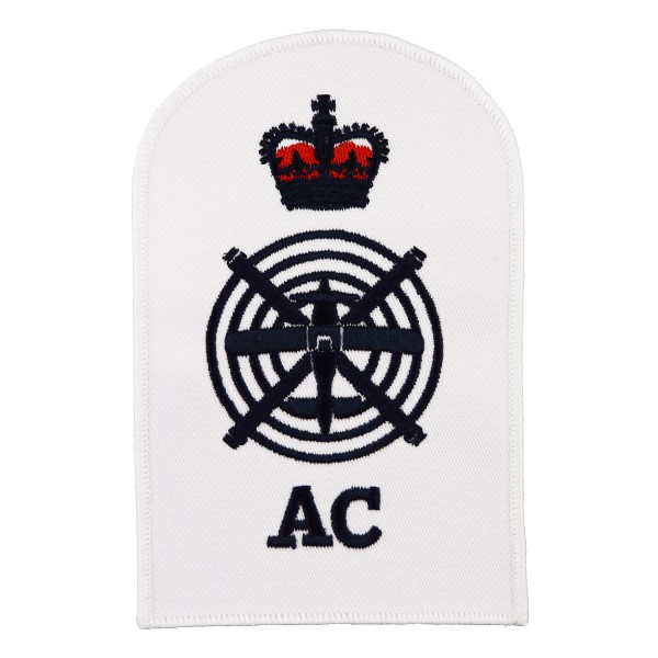 Aircraft controller (AC) - Petty Officer (PO) - Royal Navy Badge