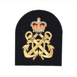 Arm - Petty Officer (PO) – Qualification - Royal Navy Badge