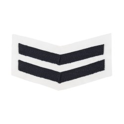 2 Bar Chevrons Corporal (Cpl) – All rates Good Conduct Service Stripe - Royal Navy Badge