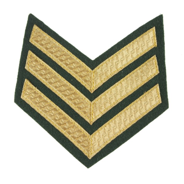 3 Bar Chevrons Sergeant (Sgt) Royal Marines (RM) Service Stripe - Royal Navy Badge