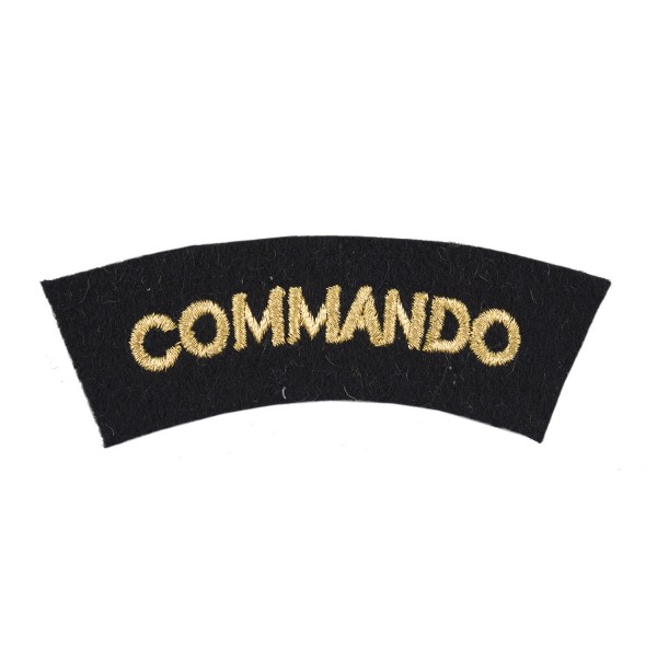 Commando All Rates – Shoulder Title Flash - Royal Navy Badge