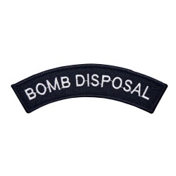 Diving and Explosive Disposal - Shoulder Title Flash - Olive